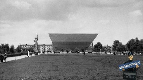 кинотеатр «Аврора» перед открытием, 1967 год
